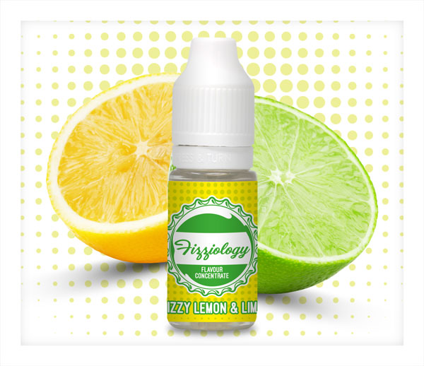 Vapable Fizziology Shortfills Fizzy Lemon and Lime
