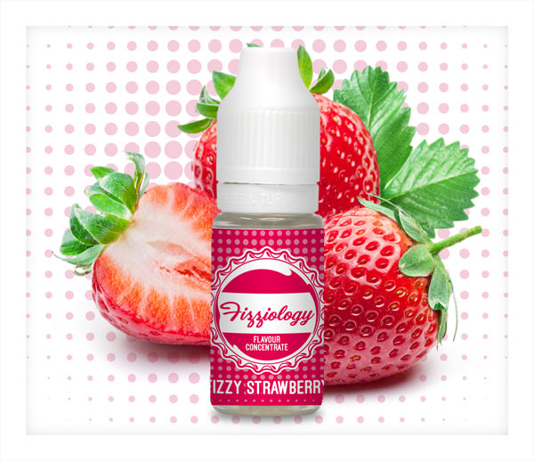 Vapable Fizziology Shortfills Fizzy Strawberry
