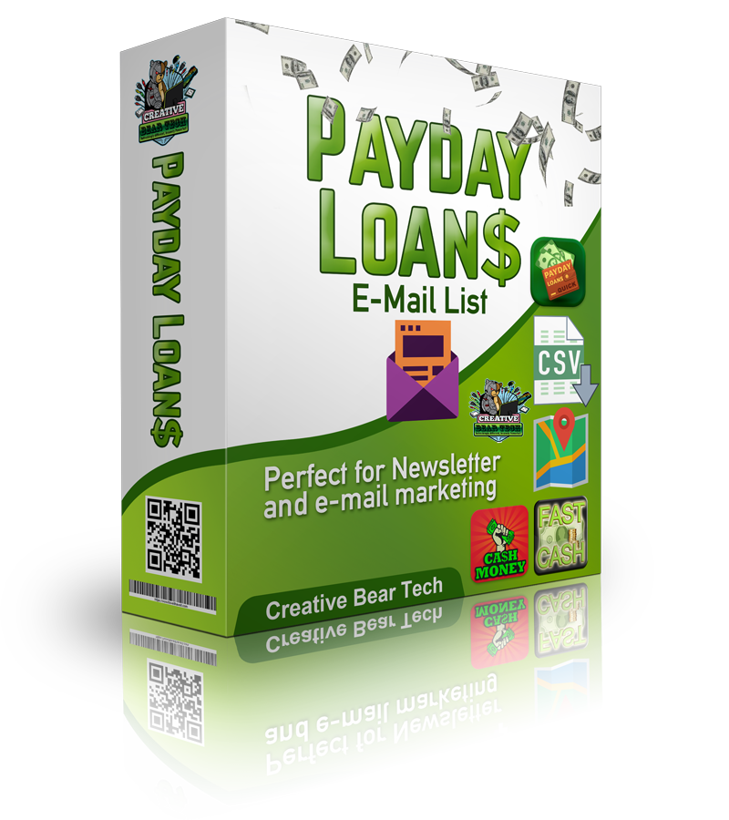 Payday Loan E-Mail List